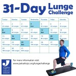 31 Day Lunge Challenge
