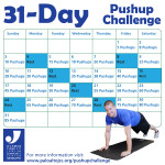 31-Day Pushup Challenge