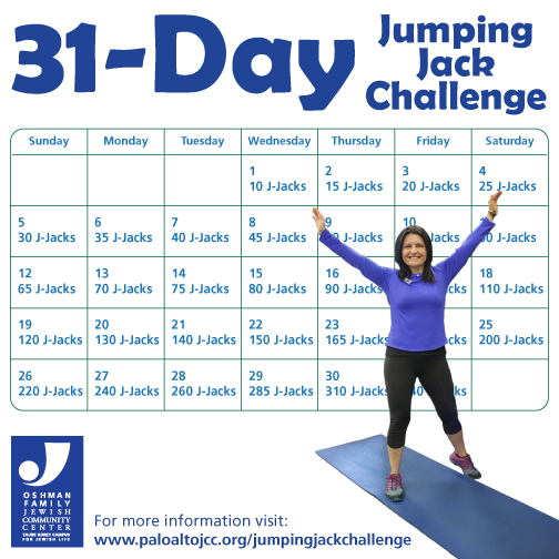 Push it! 30-Day Jumping Jack Challenge | Live Fully Blog