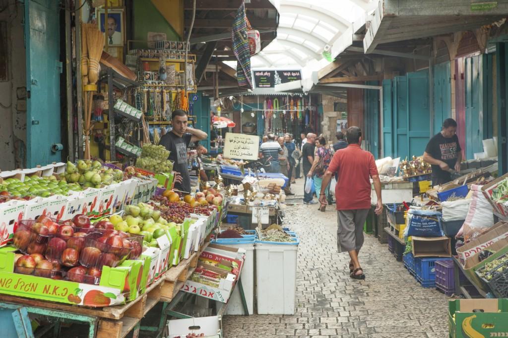 Israeli open-air market