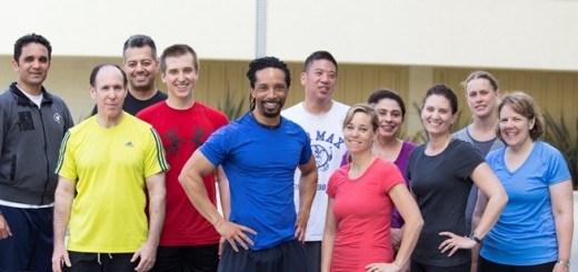 Specialized Trainer James Ward and Boot Camp participants