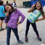 Felicia and Anousha