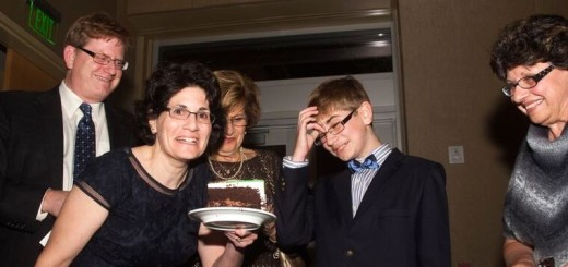 A flashback to celebrating my son's bar mitzvah at the OFJCC.