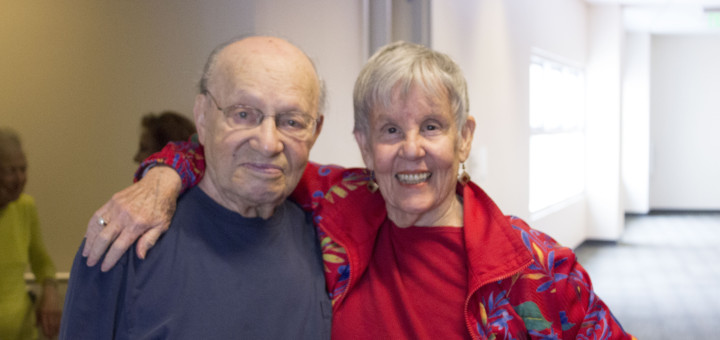 Paul Kent and Lily Hillis