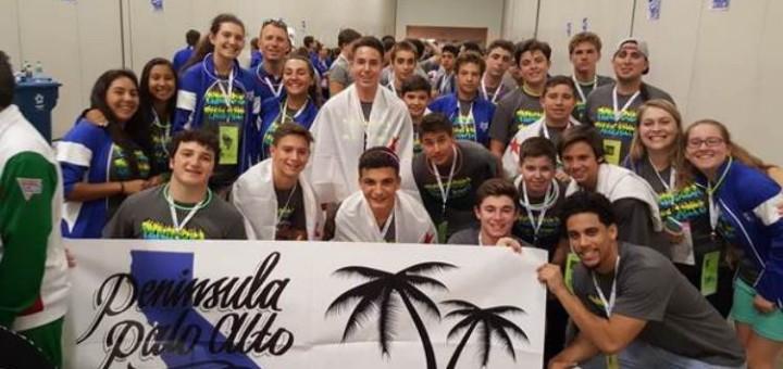 The Peninsula-Palo Alto Maccabi Games 2016 Delegation