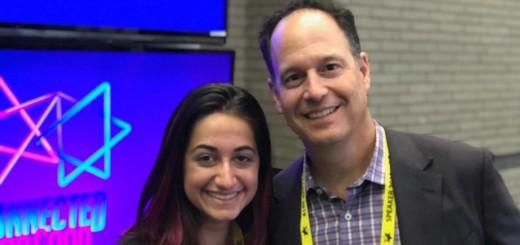 Talia and Zack Bodner at AIPAC
